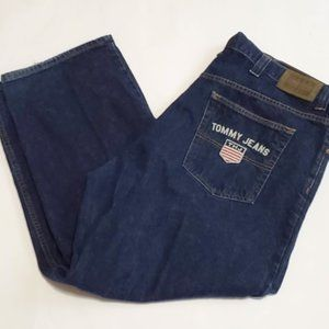 Vintage  90s Tommy Hilfiger Dark Wash Denim 44X30